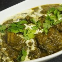 Saag (Chicken, Beef, or Lamb)