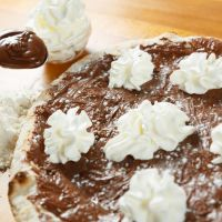 Nutella Chocolate Naan